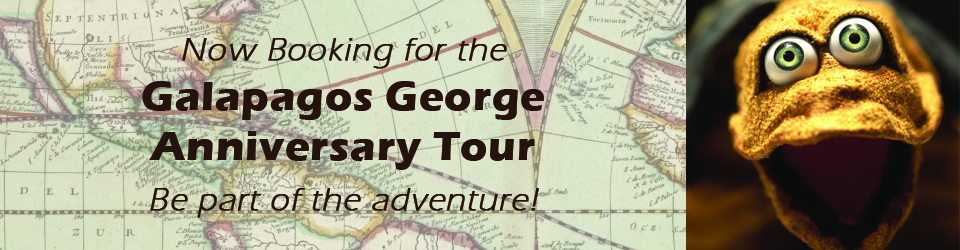 George Tour Announcement Slider - vintage map